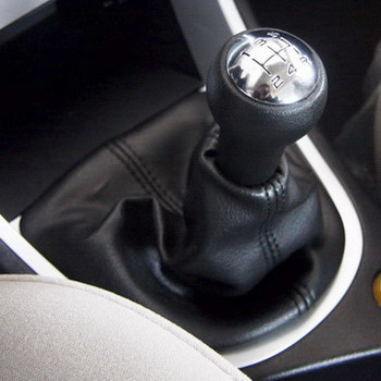 SKTOO For <font><b>Peugeot</b></font> <font><b>307</b></font> handball shift lever dust cover assembly Gear shift knob dust cover Manual transmission shift lever cover image