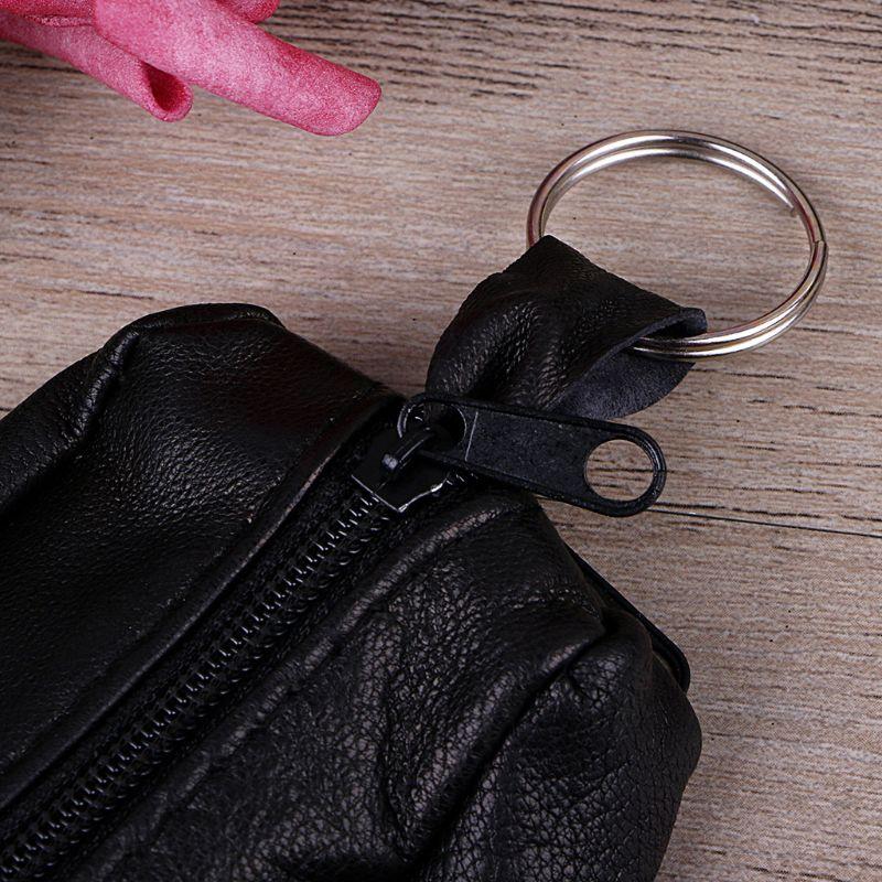 Femmes filles porte-clés portefeuille pochette carte de monnaie Mini sac à main fermeture éclair petit sac de changement M5TE