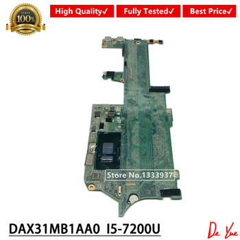 DAX31MB1AA0 i5-7200U Mainboard For HP Spectre x360 Convertible 13-ac 13-w Series Laptop Motherboard 918044-601 918044-001