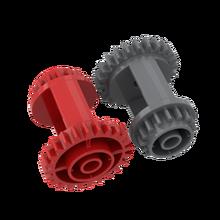 Buildmoc 6573 caixa de velocidades diferencial ldd6573 blocos de construção peças diy tecnologia educacional peças brinquedos