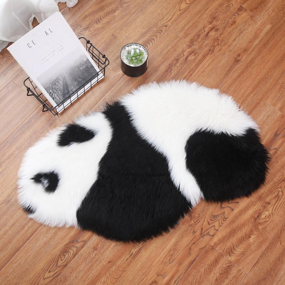 Faux Fur Sheepskin Rug Soft And Warm