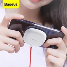 Baseus Suction Cup Wireless Charger For iPhone 11 Pro Wireless Charging Pad With Sucker Portable Qi Charger For Samsung S20 S10