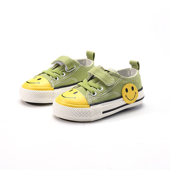 Babaya Baby Canvas Shoes 2020 Autumn New children shoes 1-3 Year Old Low Cut Cute Cartoon Casual Breathable Boys and Girls Shoes babaya children shoes 2020 autumn new cute cartoon toddler canvas shoes kids comfortable boys baby girls baby casual shoes