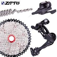 จักรยาน MTB 1X9 9 S ความเร็ว 40 T Cassette Shifter ด้านหลัง Derailleur Groupset สำหรับชิ้นส่วน m370 m430 m590 DEORE single crankset ระบบ