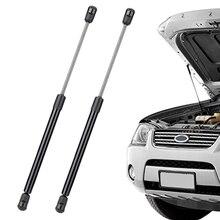 2 пары гидравлических стержней для Tesla модель 3: 1 пара автоматический подъем багажника поддерживает стойки заднего багажника пружинные и 1 пара передний подъемный капот