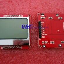 10PCS 84*48 LCD Module White backlight adapter pcb 5110 NEW diy electronics