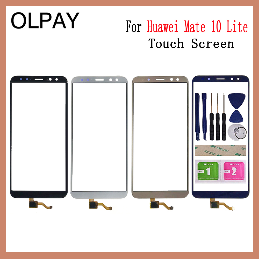 Сменный экран 5,9 дюйма, дигитайзер сенсорного экрана для Huawei Mate 10 Lite/G10/G10 Plus/Nova 2i, внешнее стекло, панель объектива