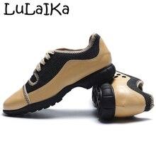 LuLaIKa/ г. Новые осенние женские модные удобные туфли на низком каблуке с квадратным носком в стиле ретро; Повседневная Тканевая обувь