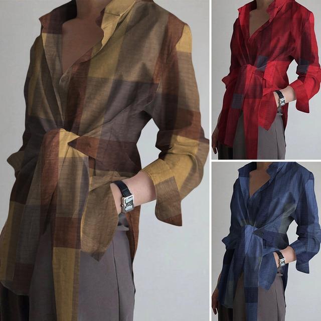 Long Sleeve Blouse 2