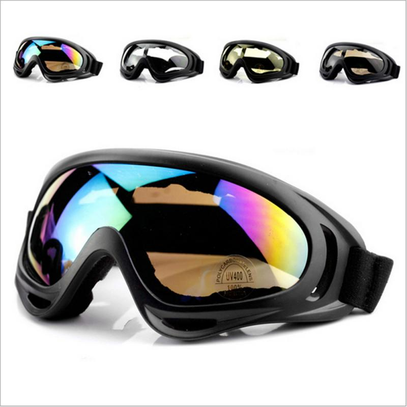 NEW Ski Goggles Dustproof Windproof Anti-UV Skiing Eye Protection Glasses Sport Safety Fashional Colorful Snow Glasses