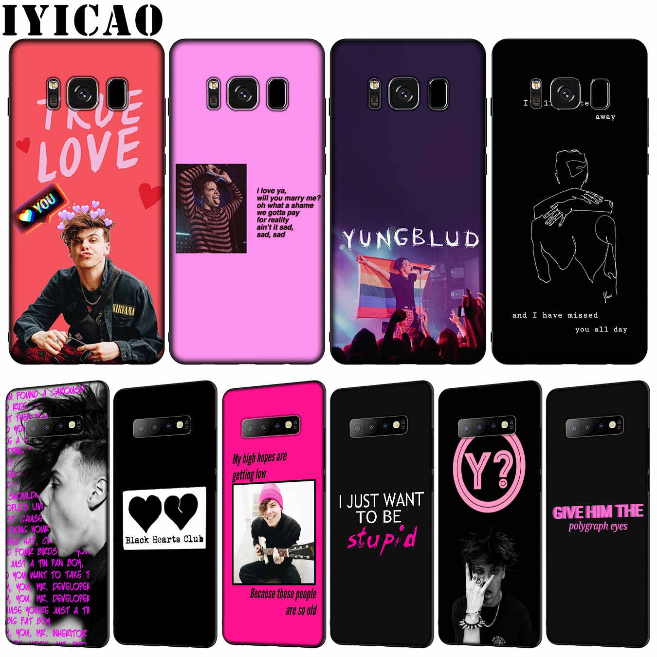 Yungblud Rapper SINGER Soft TPU ซิลิโคนสำหรับ Samsung Galaxy S10 E S9 S8 PLUS S6 S7 EDGE S10e