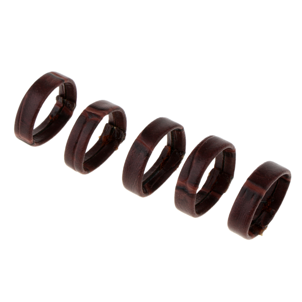 10pcs PU Leather Watch Strap Retaining Hoop Loop Rubber Retainer Buckle Holder Ring Keeper