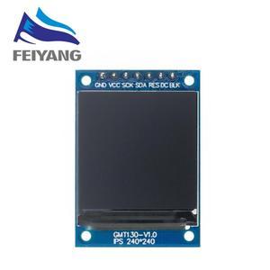 Image 5 - TFT عرض 0.96 / 1.3 1.44 بوصة IPS 7P SPI HD 65K كامل اللون وحدة LCD ST7735 محرك IC 80*160 (وليس OLED) لاردوينو