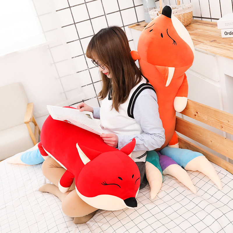 Kawaii лиса мягкие животные для детская подушка лиса мягкие животные кукла игрушка детский подарок - 6