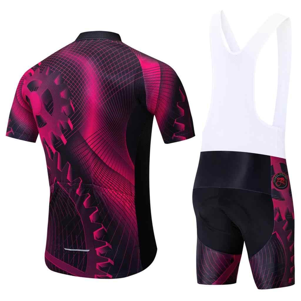2019 חדש pro צוות בחריין aero skinsuit קצר שרוול קיץ בגד גוף אופני בגדי MTB Ropa Ciclismo speedsuit גופיות
