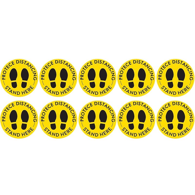Social distancing floor vinyl sticker strip,1.5M distance decal kit,floor strip