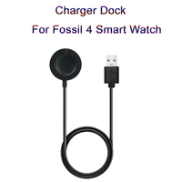 NEW Smart Watch Charging Cradle Dock  USB Cable Charging Cable Fast Charger For Fossil 4 Smart Watch High Quality Accessory|Chargers| |  -