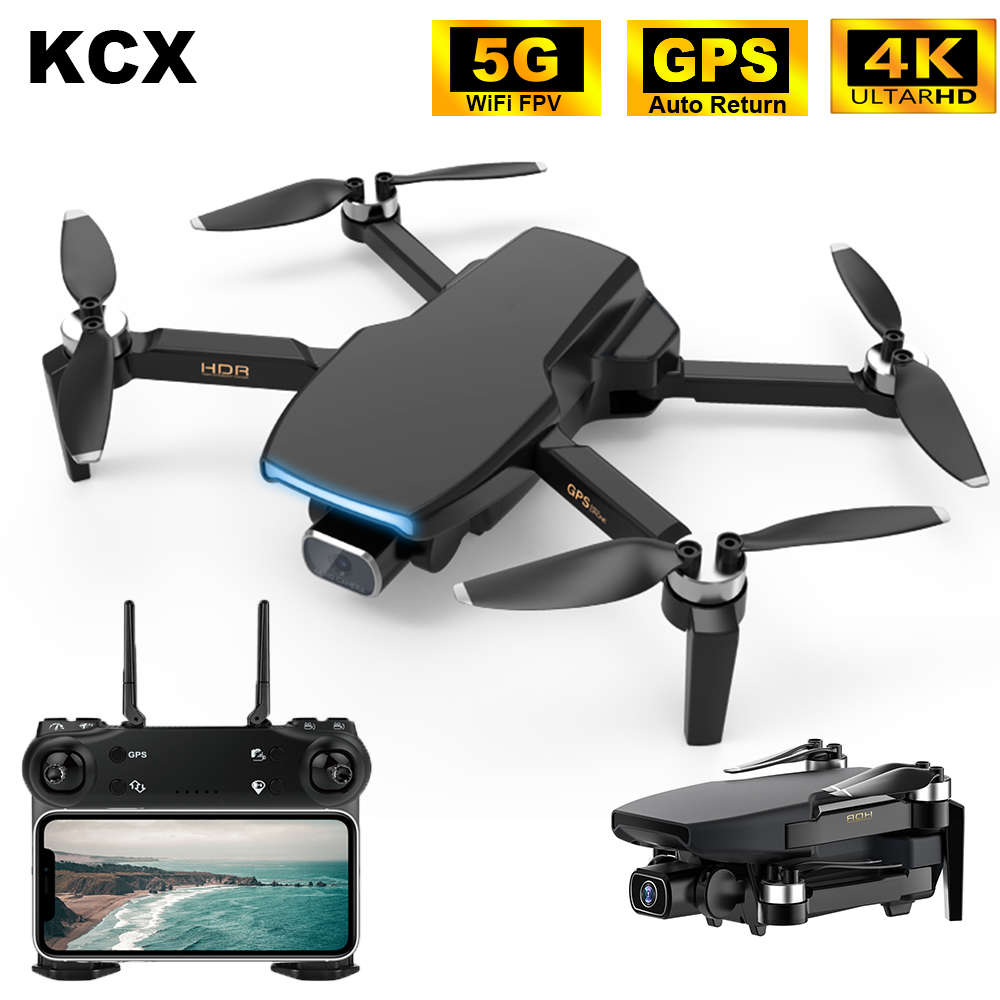 KCX SG108 Camera Drone 4K GPS 5G WiFi Brushless Motor FPV Long Distance 1km RC Quadcopter Drone 4K Professional 1
