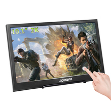 10.1 Inch Touch Monitor 2K 2560x1600 Portable Gaming Monitor IPS LCD Monitor PC PS3/4 Xbox 360 Tablet Display for Windows 7 8 10