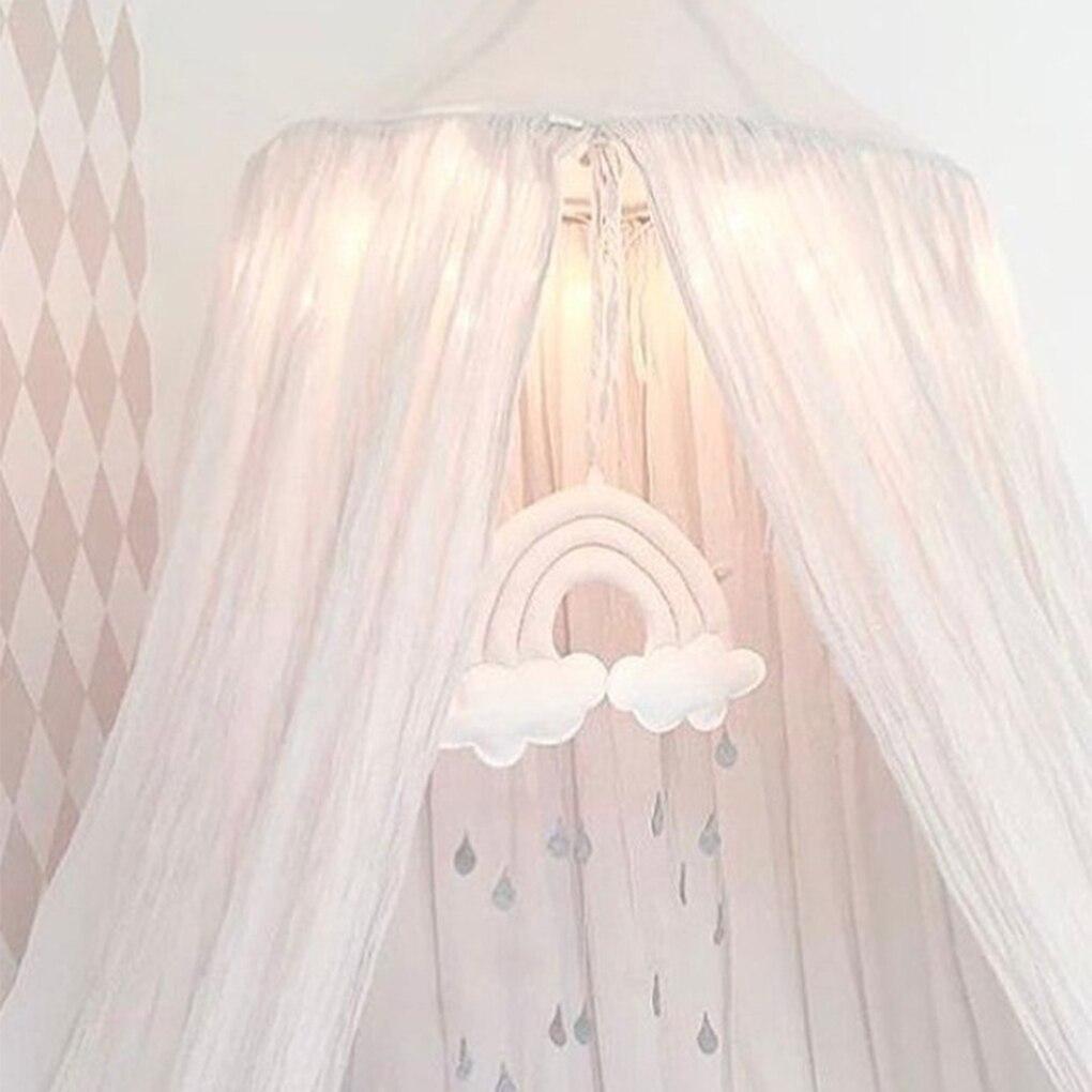 Recién Nacido nube Arco Iris gota de lluvia juguetes de pared bebé cama carpa colgante juguete colgante de cuna habitación ornamento accesorios para fotografía para niños regalos para niños 90cm 3d patrón suave paquete base estudio sala de estar habitación de los niños tienda impermeable anti-colisión espuma pegatinas de pared