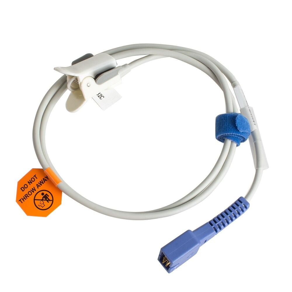 Nellcor Reusable Pediatric Spo2 Sensor Infant Child Kids Finger Clip Compatible Nellcor DS100A