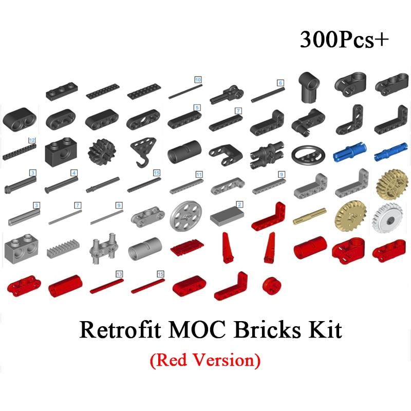 Technic Motor Power Mobile Crane Mk II Car 42009 Model Building Blocks Bricks Toys Kids Gifts Compatible Logoinglys MOC 0853