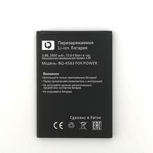 NEW Original 2800mAh BQ-4583 FOX POWER battery for  BQ High Battery+Tracking Number