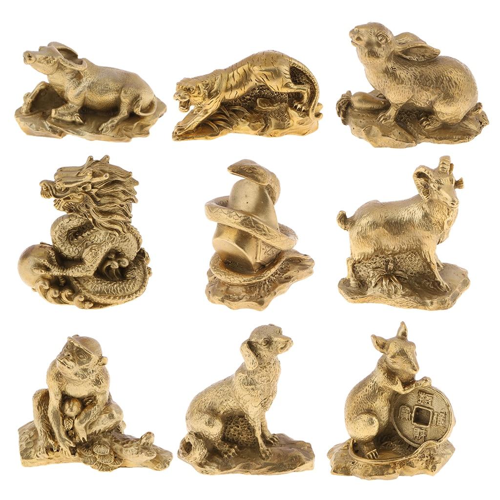 Table Decor Fengshui Decor China Shengxiao Zodiac Animal Figurines Monkey