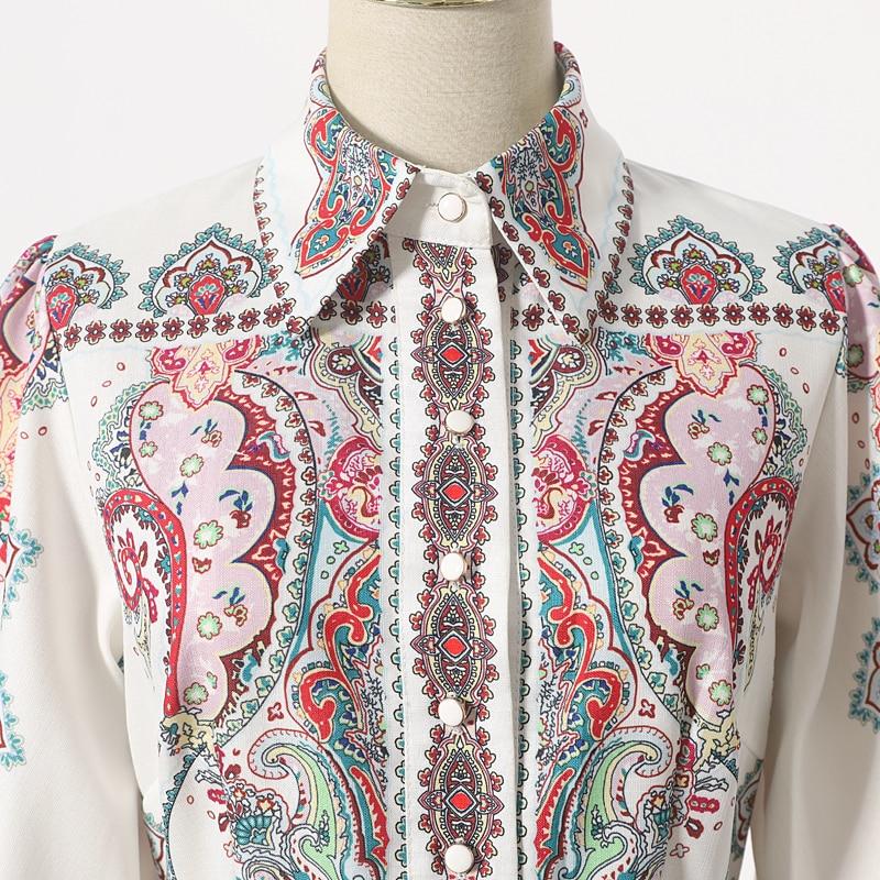 [LIVIVIO] Vintage Floral Print Lantern Long Sleeve Mini Dresses Female Match Belt Waisted 2019 Autumn Clothes for Women Fashion