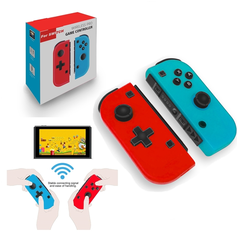 Wireless Bluetooth Pro Switch Joy Pad Controllers L/R Compatible with Nintendo Switch Console Joy Con Controller Joystick-2PCS 1