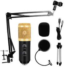 USB bm 800 Condenser Microphone for Computer ECHO Sound Card bm800 Studio Microphone Karaoke bm 900 Mic with Stand поп фильтр bm 800 studio condenser microphone v8 audio usb headset microphone smartphone sound card e300 wired for computer