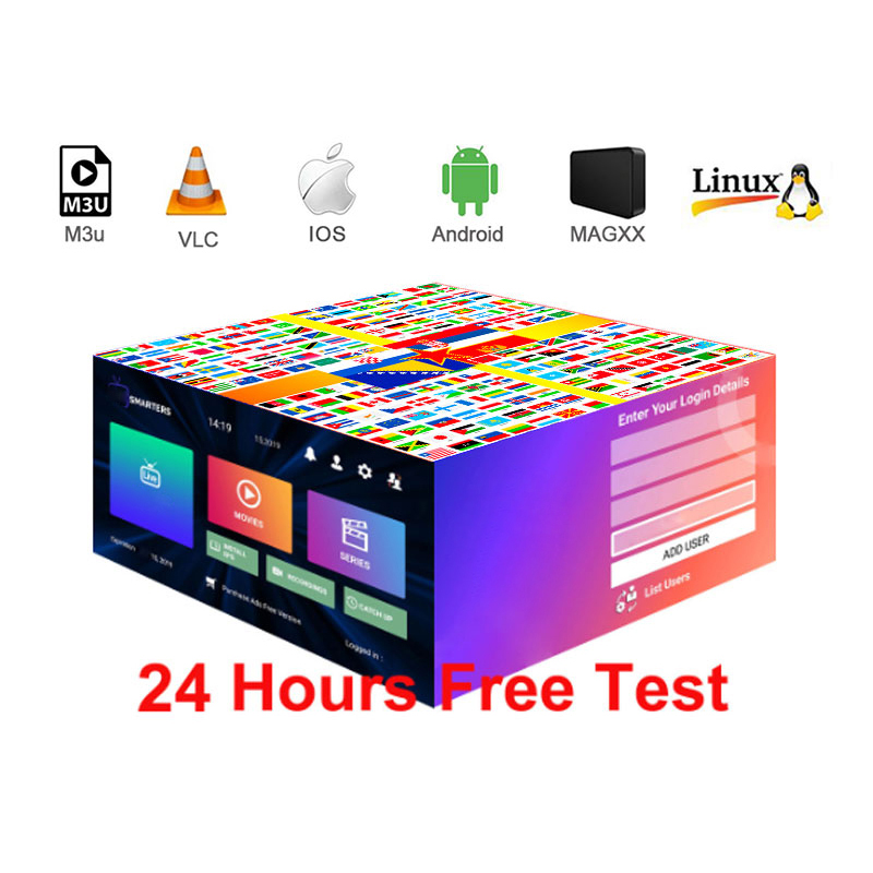 Europe IPTV Subscription Hd UK German Dutch Poland Portugal Smart TV IPTV M3U For Android Enigma2 Fast Delivery One Day Test M3U