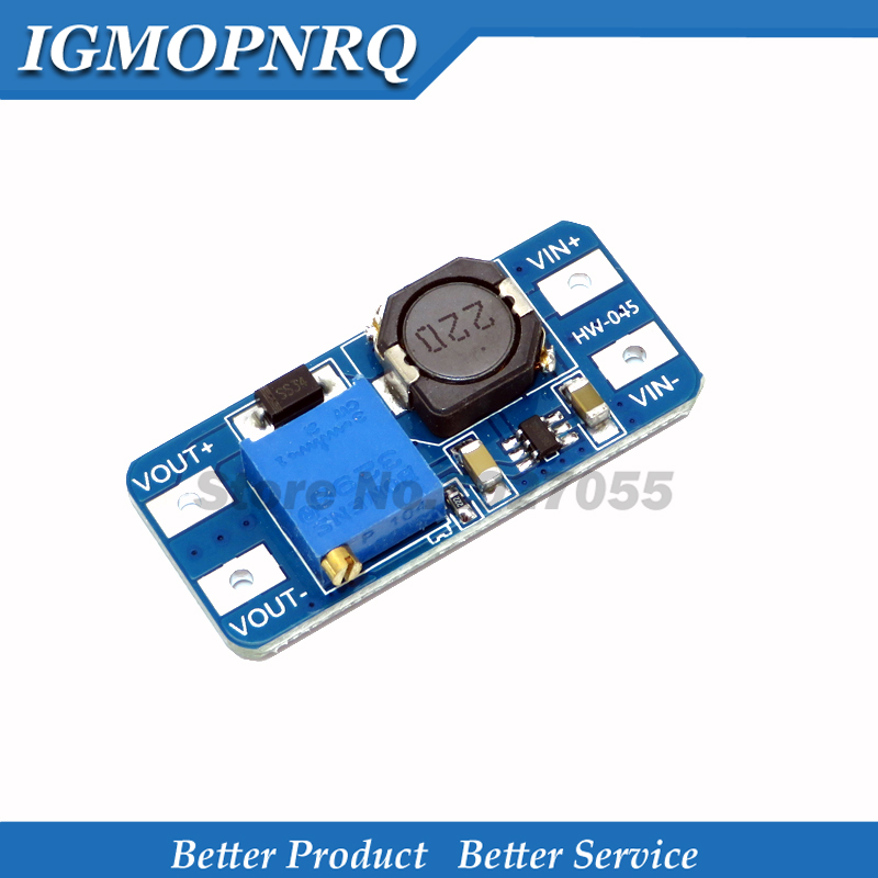 10PCS MT3608 DC-DC Step Up Converter Booster Liefern Modul Boost-Step-up Board MAX ausgang 28V 2A