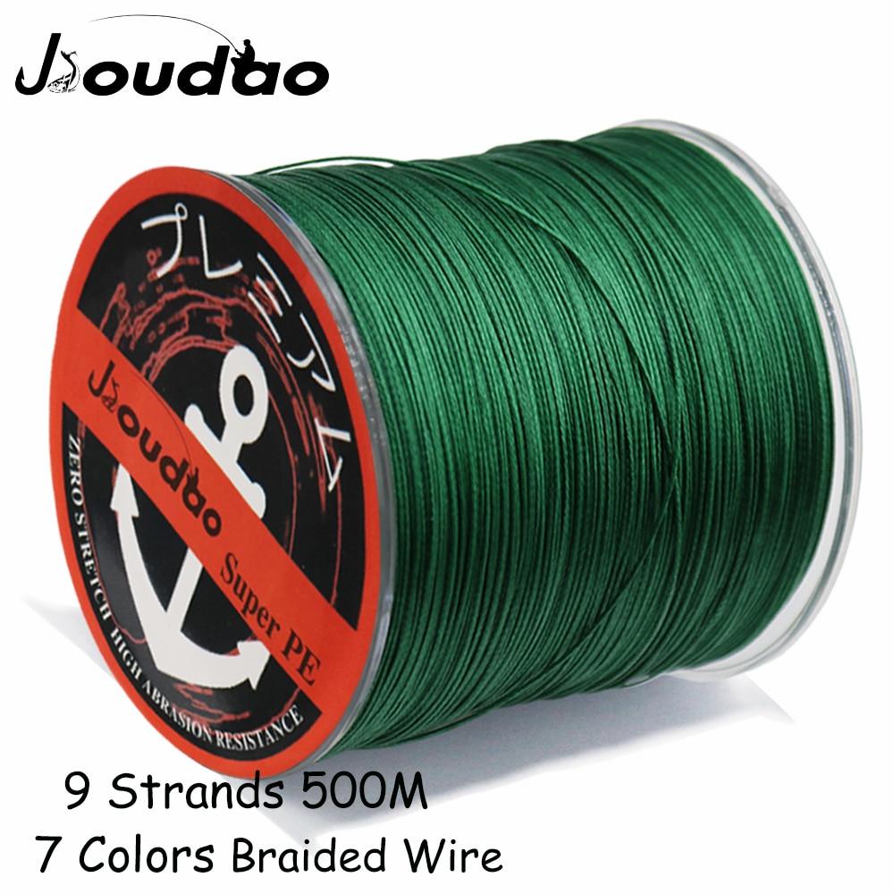 Jioudao 9 Strands Weaves Braided 500M/547YD Fishing Line Super Strong PE Line 20LB 200LB Braided Fishing Thread|Fishing Lines| |  - title=