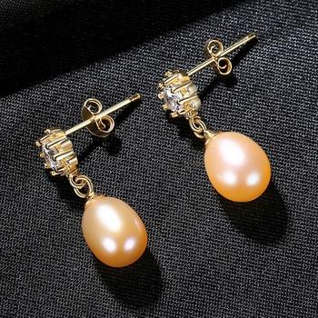Pendientes de plata de ley 925 CZCITY Charm con circonita cúbica AAA para mujer, joyería fina para bodas, regalos FE0310