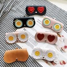 Sunglasses Case Cartoon-Cover Travel Women Cute 1pcs Multi-Function Unique Popular Ins