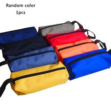 цена на Kit Small Canvas Thicken Parts Package Multi-function Repair Kit Electrician Bag Tool Storage Bag Durable