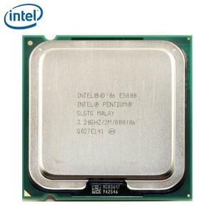 Intel Pentium E5800 3.2GHz Dual-Core CPU Processor 2M 65W LGA 775 tested 100% working