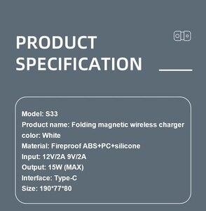 Image 5 - Manyetik MgaSafing kablosuz Duo şarj iPhone 12 /Pro/Pro Max/Mini 15W manyetik MagSave hızlı kablosu ile kablosuz şarj