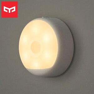 Image 1 - Yeelight Motion Sensor Nachtlicht USB Aufladbare Drei Installation Optionen Infrarot Magnetische mit Haken für Smart Home