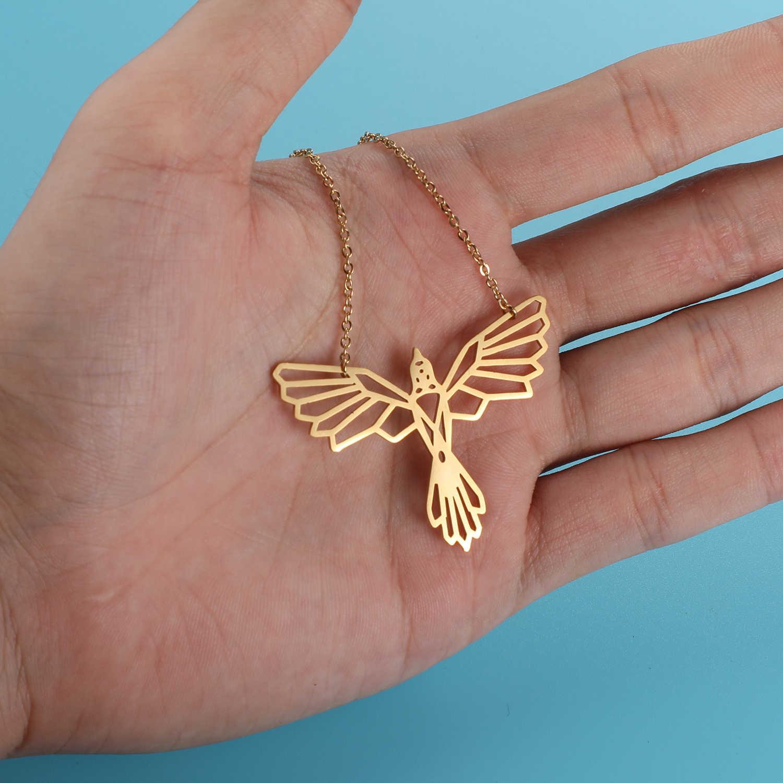 Unikalne Phoenix naszyjnik LaVixMia włochy projekt 100% naszyjniki ze stali nierdzewnej dla kobiet Super moda biżuteria specjalny prezent