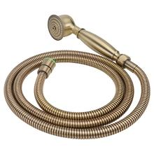 1pc Shower Head Elegant Brass Shower Nozzle Home Shower Sprinkler (Bronze)