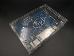 Banana PI R64 Acryl/Clear case