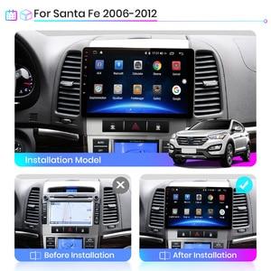 Image 3 - Junsun V1 Android 10.0 2G+32G DSP Car Radio Multimedia Video Player For Hyundai Santa Fe 2 2006 2012 Navigation GPS 2 din no dvd