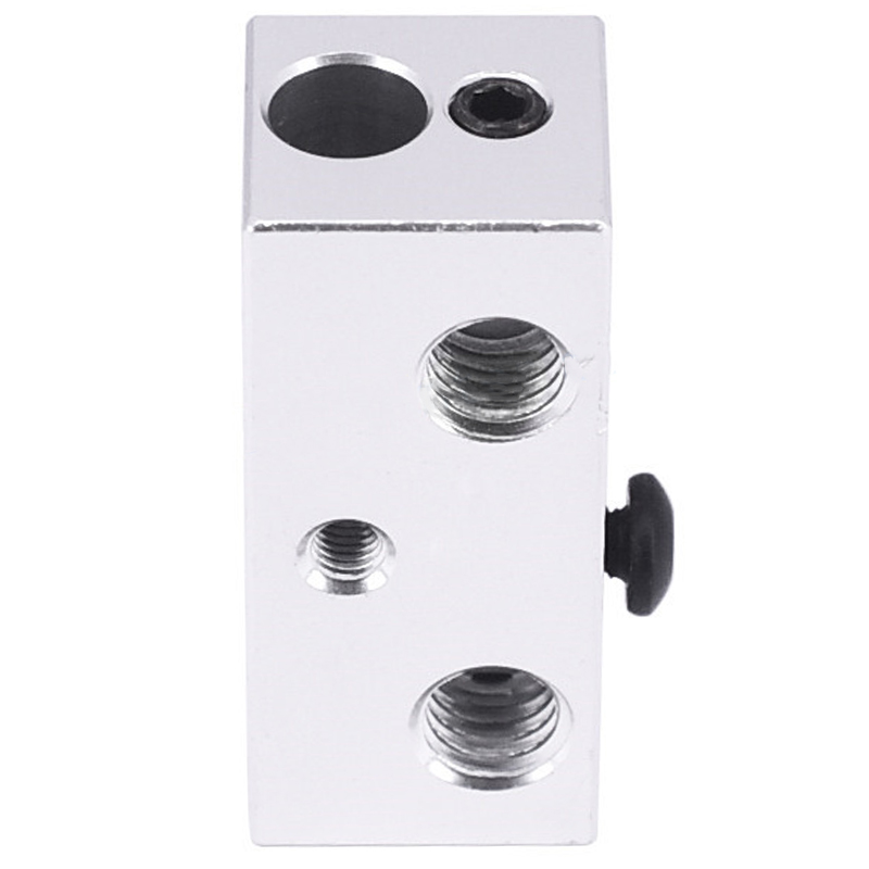 Image 4 - All Metal Multi Extrusion 2 In 1 Out Cyclops Aluminium Heater Block Multi Color Nozzel 1.75Mm For 3D Printer-in 3D Printer Parts & Accessories from Computer & Office