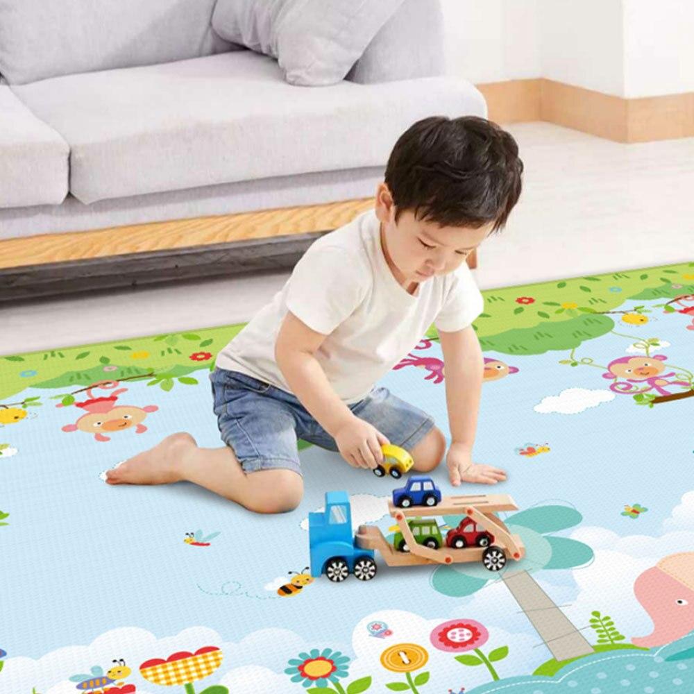 Nouveau tapis de jeu pour enfants brillant tapis de jeu pliant Puzzle tapis de jeu pour nourrissons tapis rampant en mousse et matelas de jeu