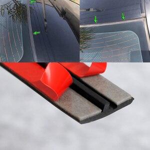 Image 5 - Gummi Auto Dichtung Auto Dach Scheibendichtstoff Gummi Protector Dichtung Streifen Schallschutz Fenster Dichtungen Auto Styling Für Auto