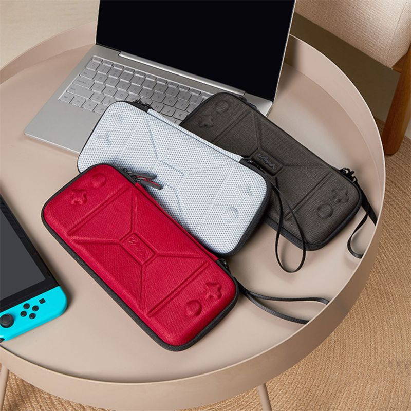 Mini Portable Hard EVA Storage Handbag Travel Carrying Case Pouch for Nintend Switch NS Console Gaming Accessories