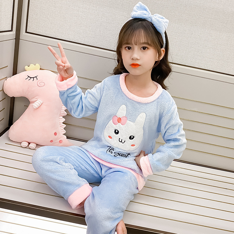 novo inverno criancas pijamas moda bebe meninas 04