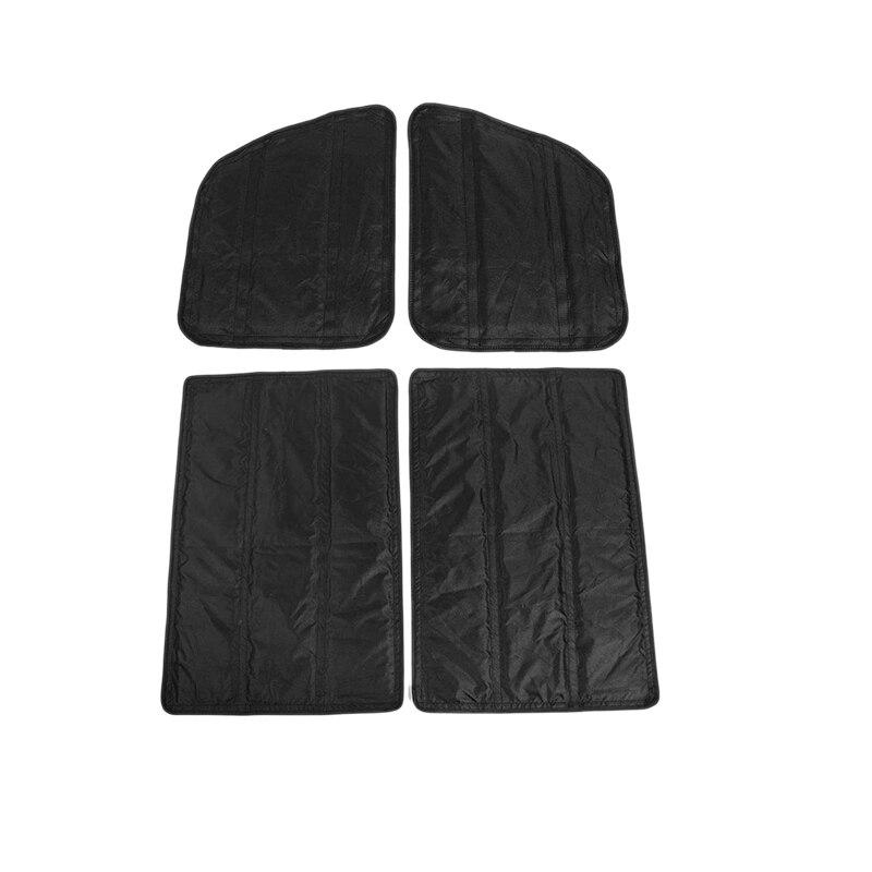 Hardtop Headliner Roof Insulation Kit Interior Accessories for 2018-2021 Jeep Wrangler 2Door JL & 2020 Jeep Gladiator JT